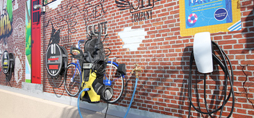 エクステリア&ガーデン展示場の写真(入口)