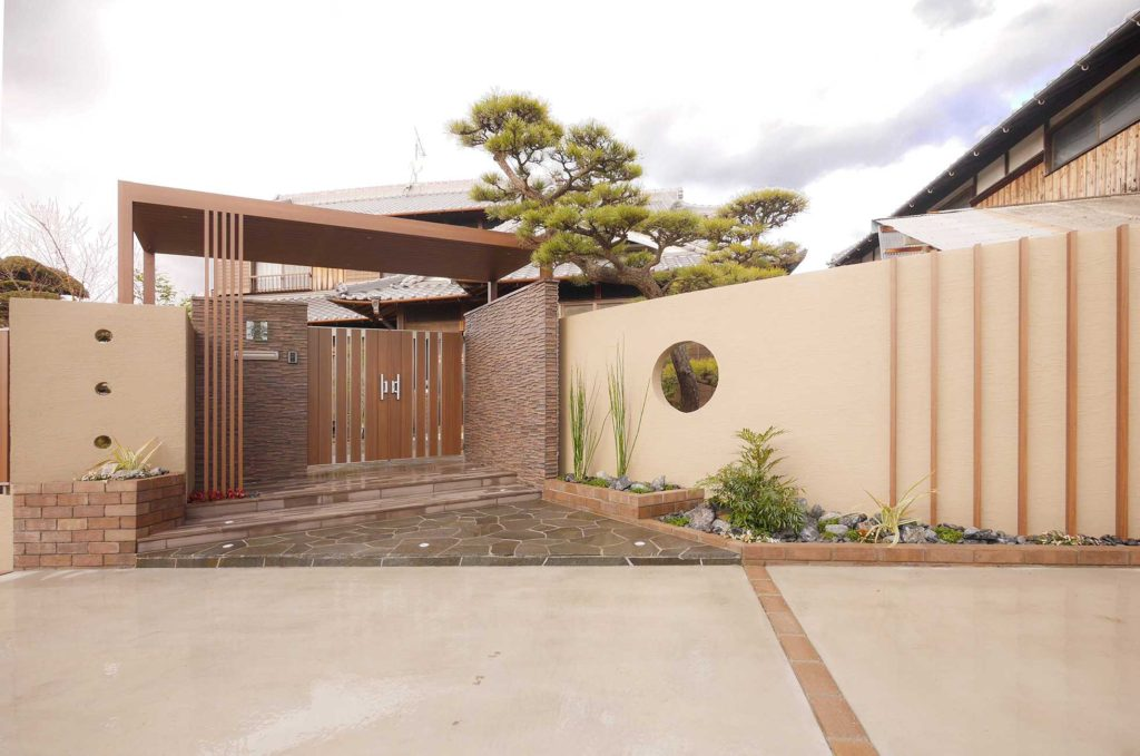ひまわりライフが造る日本庭園【神戸市西区】