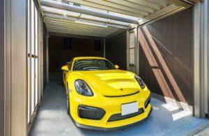 【LIXILスタイルコート】黄色が映えるかっこいいガレージ【三田市】