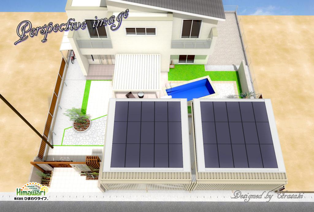 【兵庫県姫路市】家庭用プール設置工事始まります!