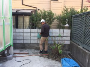 【LIXIL暖蘭物語】家族が集まる団らん空間を作るガーデンルーム【神戸市西区】(施工の様子)