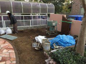【LIXILココマ】既存ガーデンルームをココマへリフォーム【神戸市西区】(施工の様子)