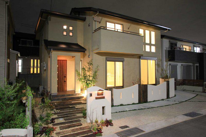神戸市垂水区 新築外構施工例写真