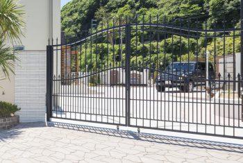 大型鋳物門扉