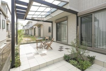 神戸市西区井吹台のプラスGの施工現場