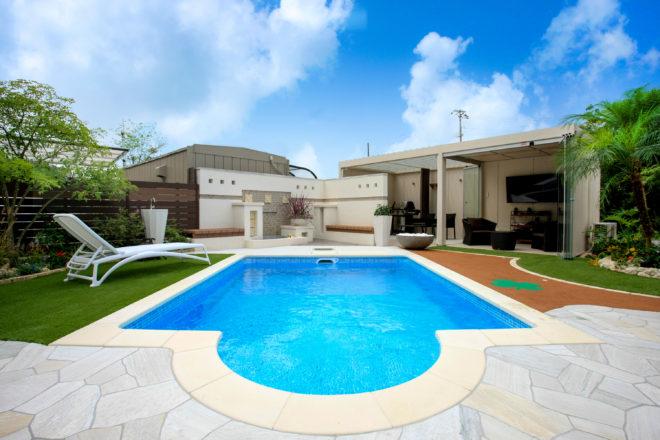 家庭 用 プール 施工