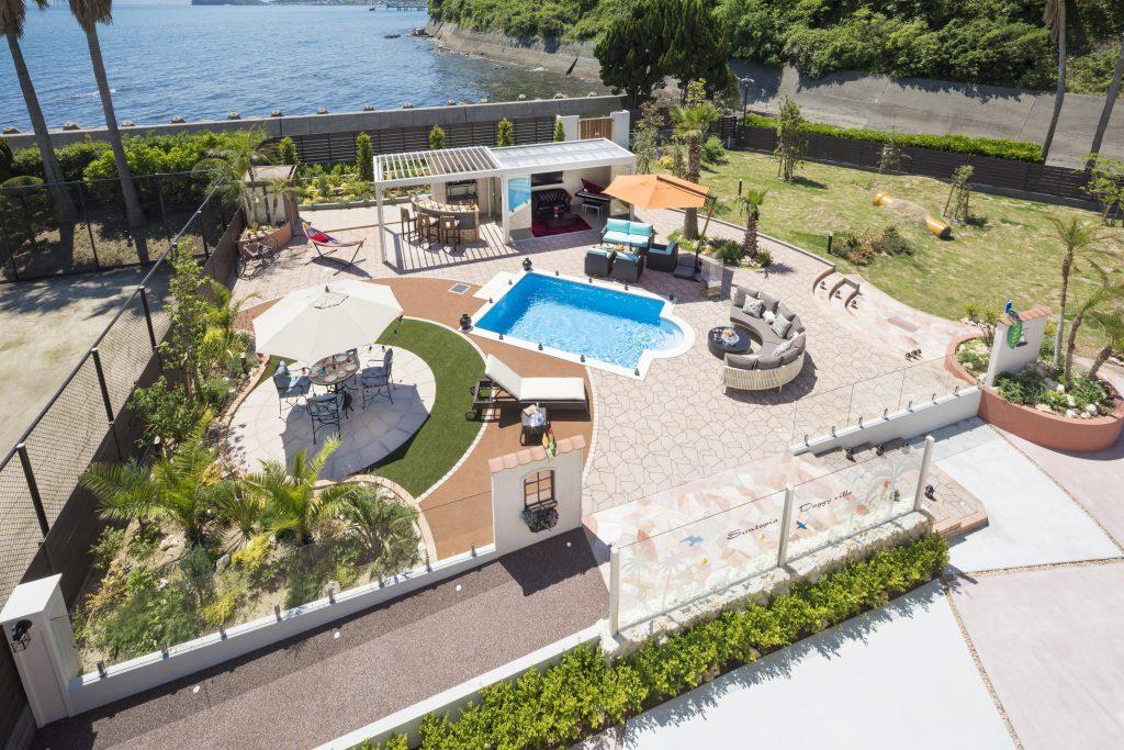 淡路島 プール付き別荘
